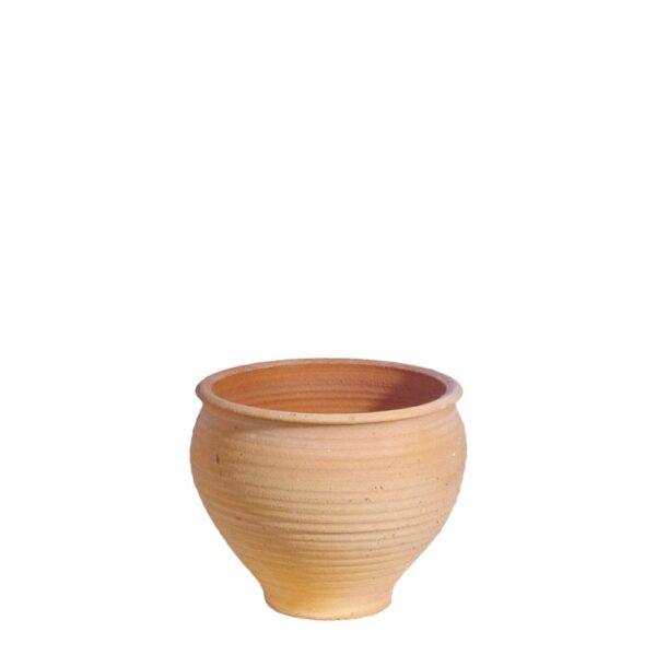 Barrel Glastra – Græsk terracotta krukke fra amphora