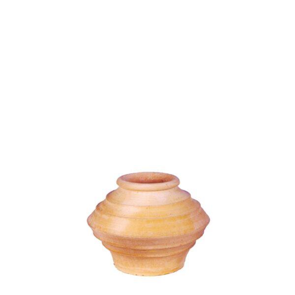 Koronios Flat – Græsk terracotta krukke fra amphora