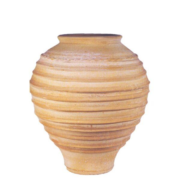 Koronios – Græsk terracotta krukke fra amphora