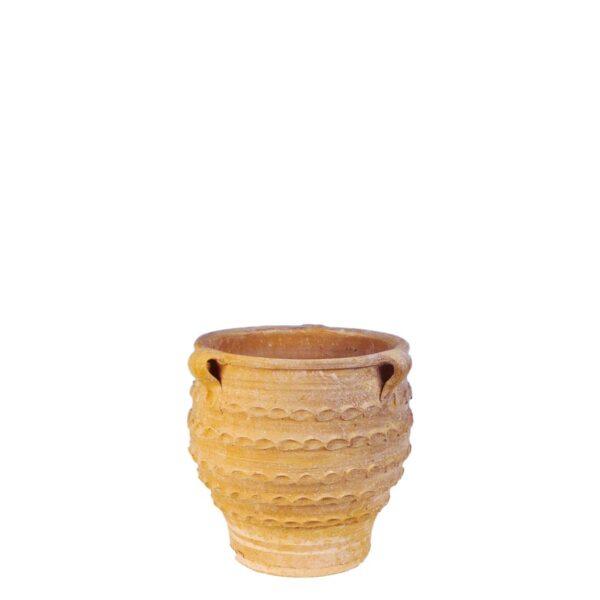 Kostis – Græsk terracotta krukke fra amphora