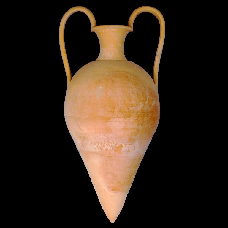 Minoan – Græsk terracotta krukke fra amphora