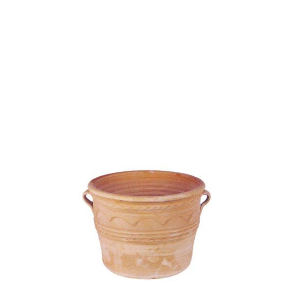Panos – Græsk terracotta krukke fra amphora