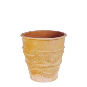 Snake Jar – Græsk terracotta krukke fra amphora