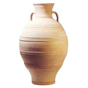 STAMNA. En græsk terracotta krukke fra amphora